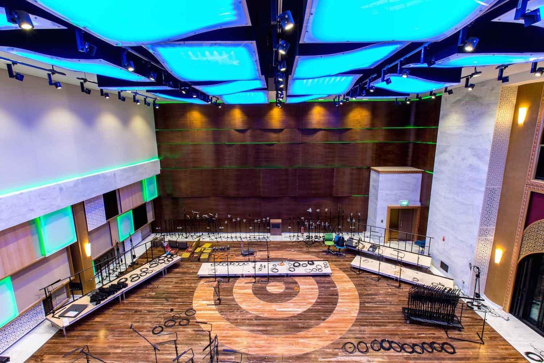 Katara Studios interior