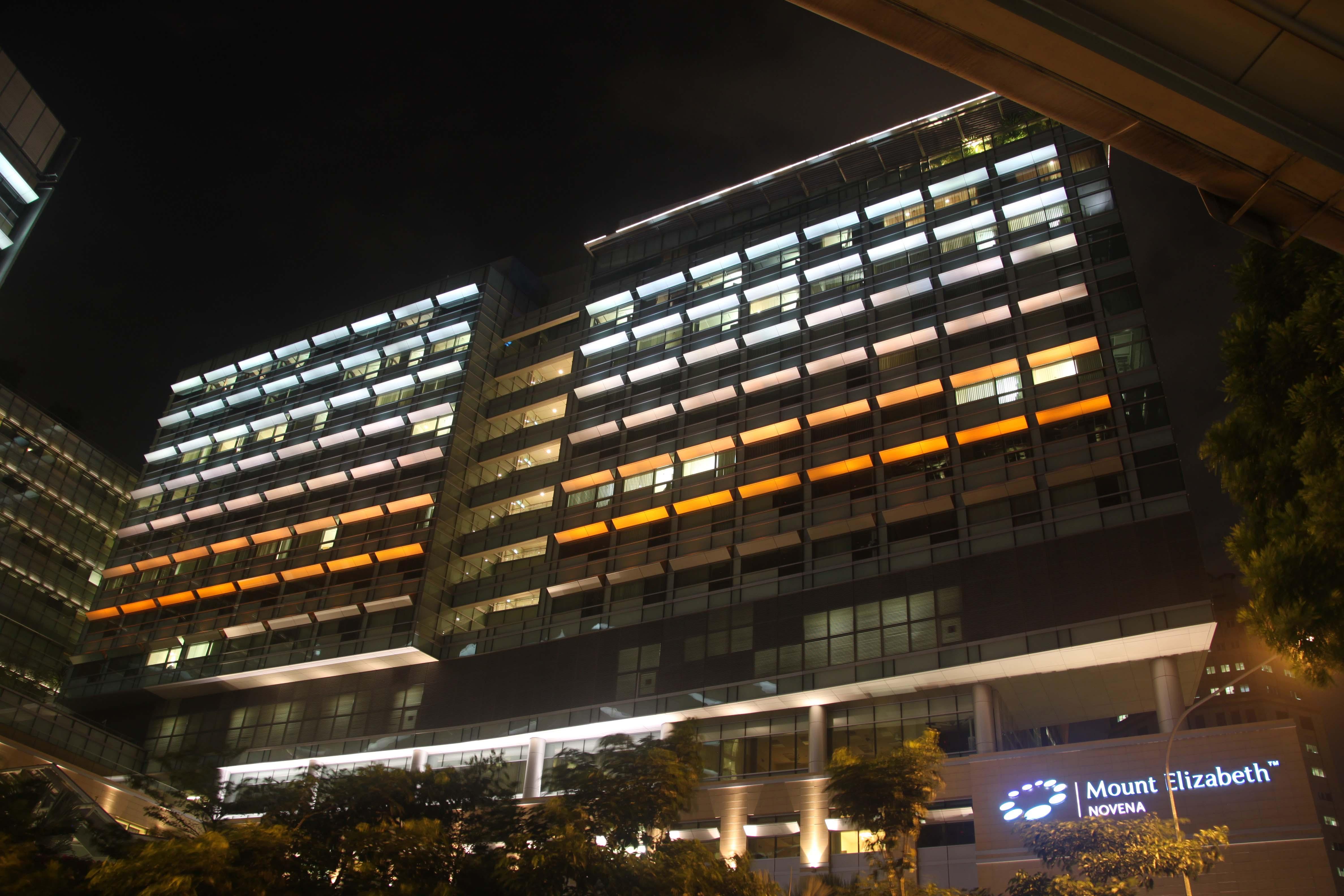 Mount Elizabeth Novena Hospital exterior