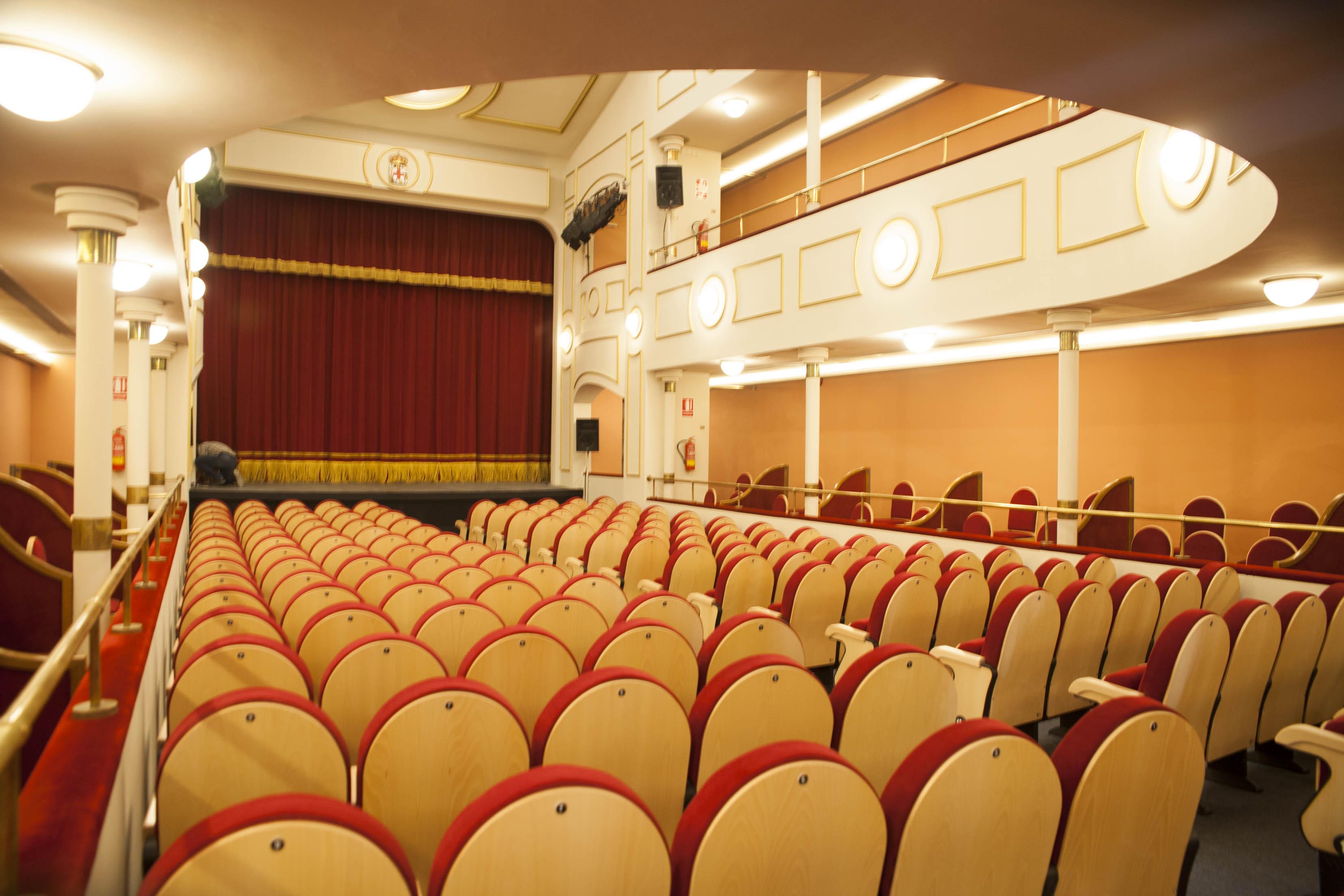 Escenario Teatro Apolo Almeria