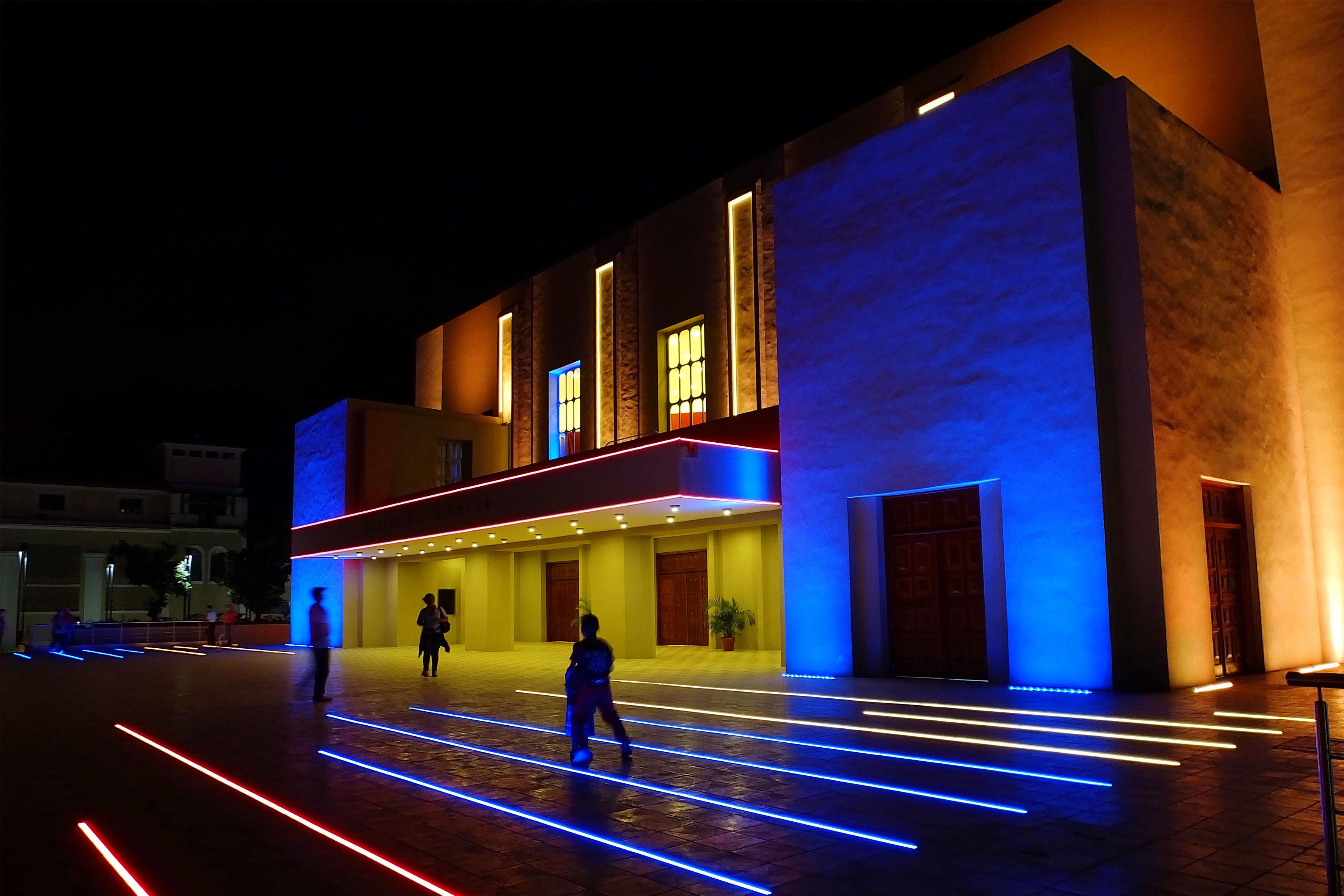 Entrada Teatro de la Ópera de Maracay