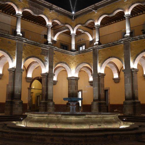 Fuente convento de Santa Rosa de Viterbo México