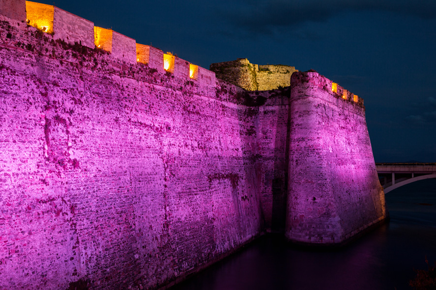 Murallas Reales Ceuta Rosa