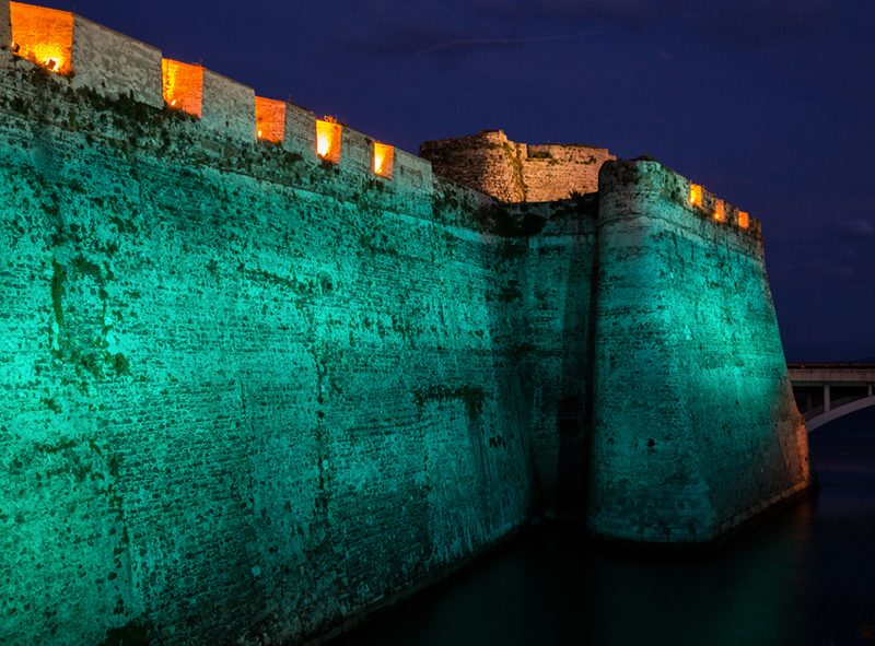 Murallas Reales Ceuta verde