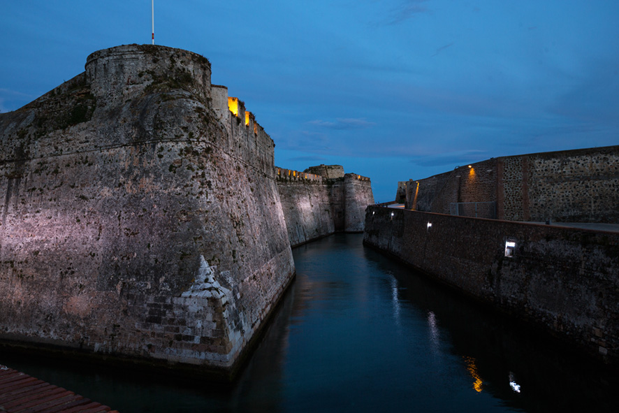 Iluminiación murallas Reales Ceuta