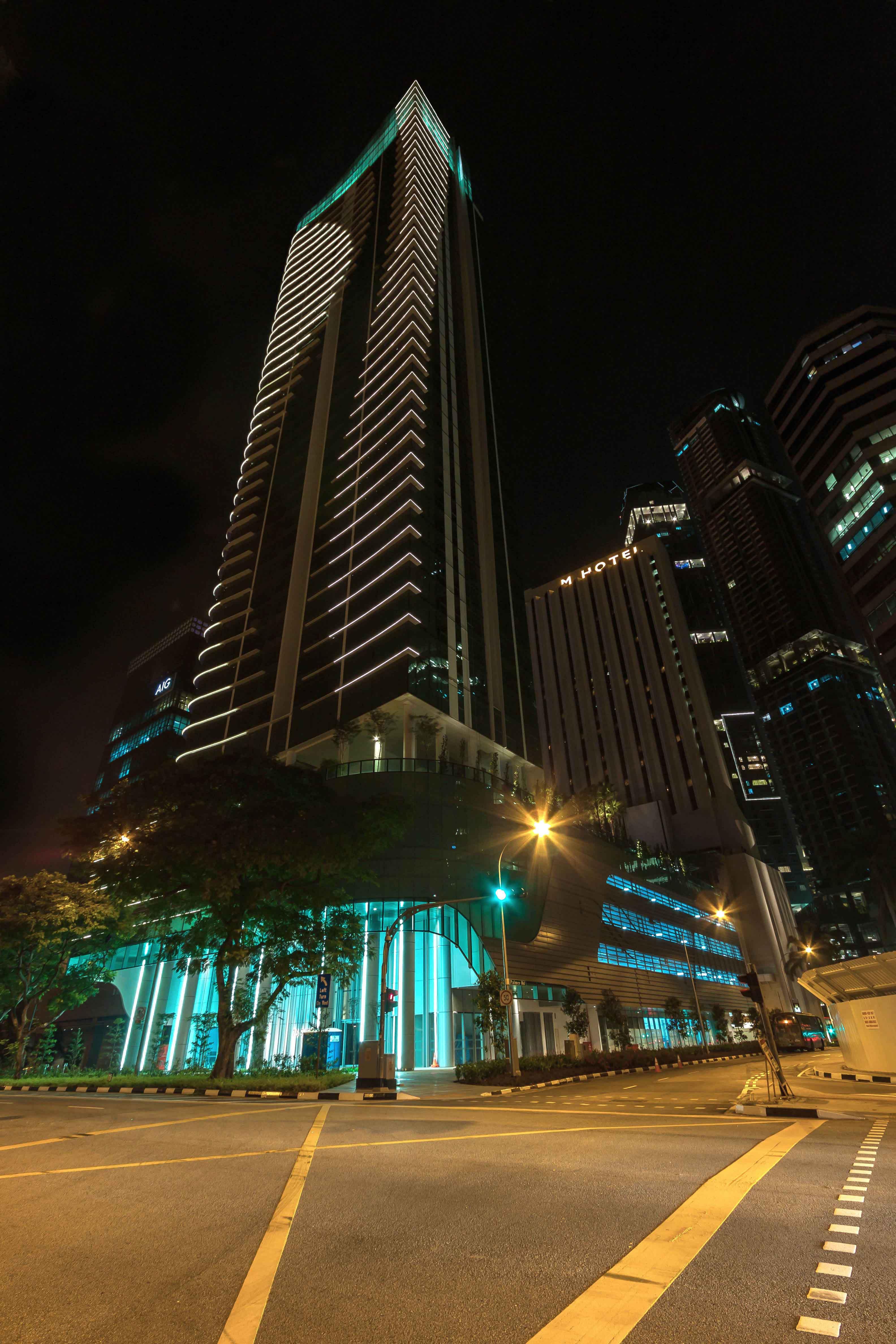 Edificio Shenton Way Singapur