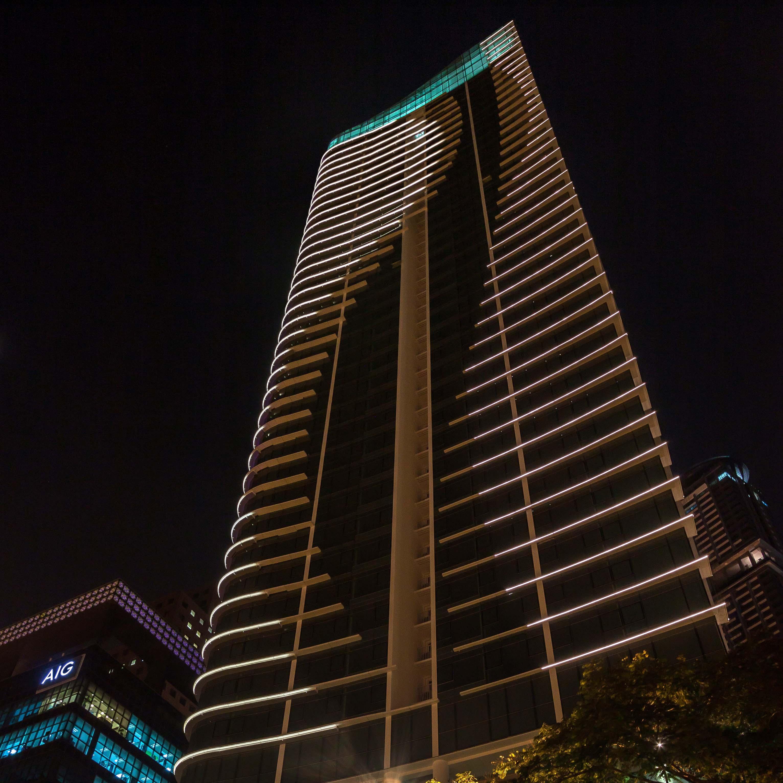 Fachada edificio Shenton Way Singapur