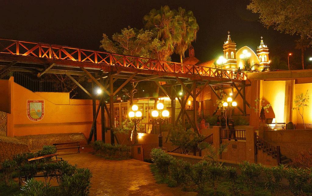 Puente los suspiros Lima