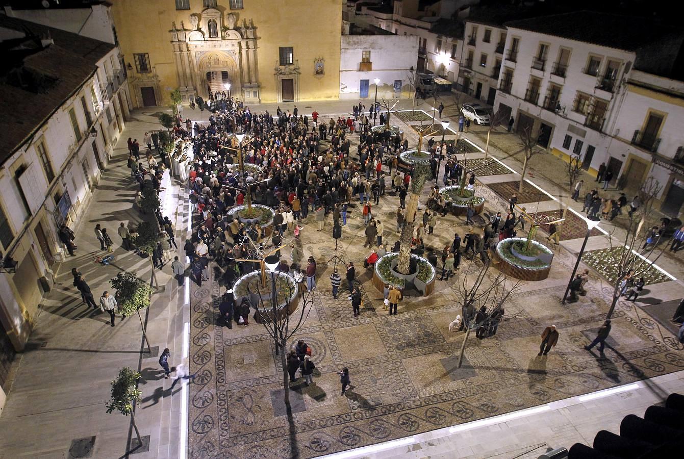 Iluminación plaza San Agustín Córdova