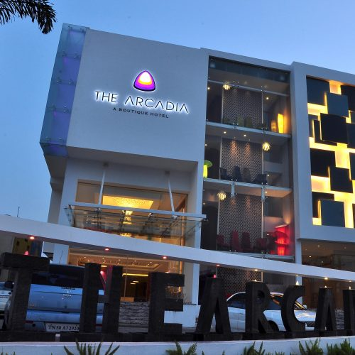 Arcadia Boutique Hotel exterior