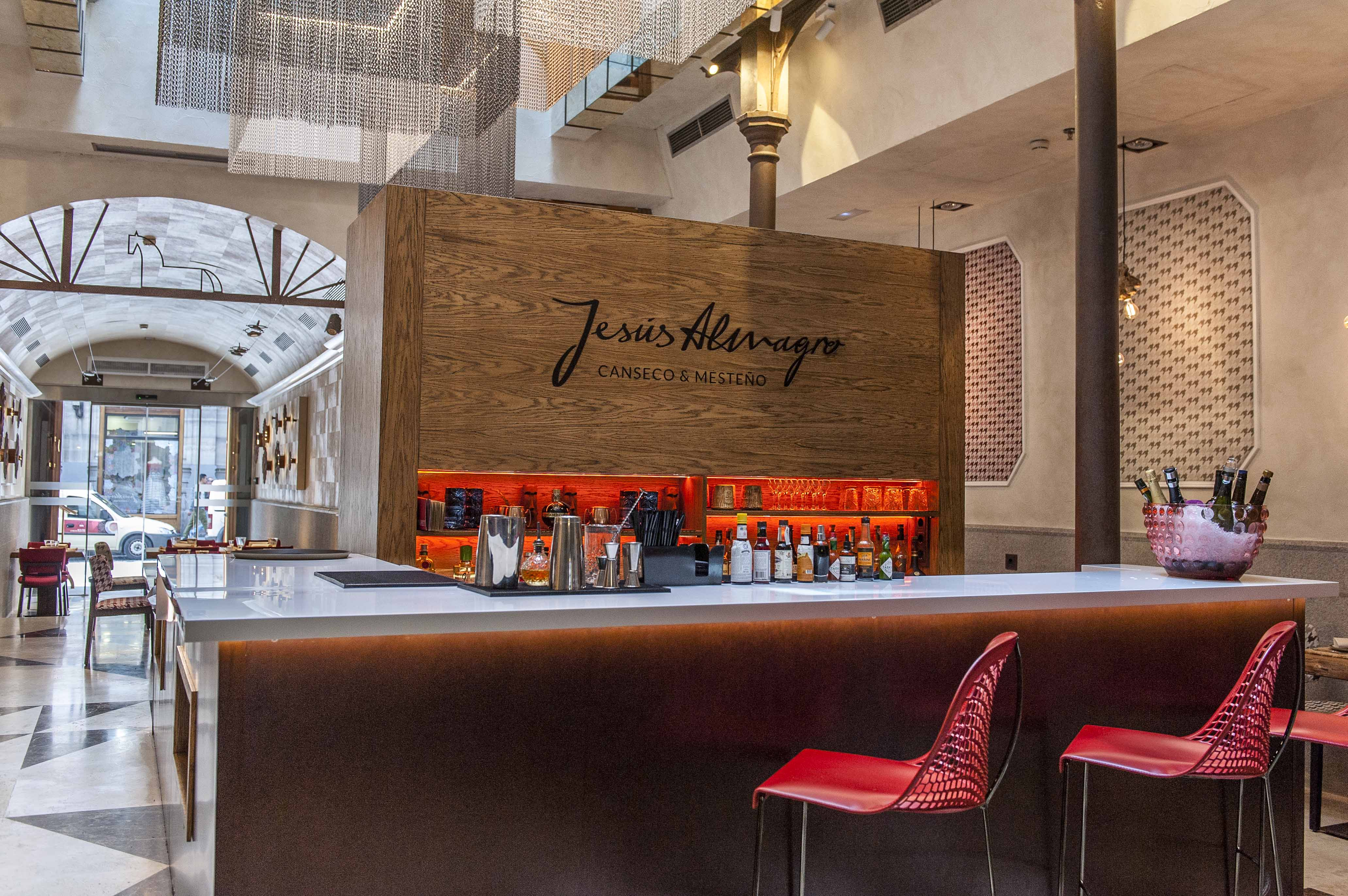 Restaurante Canseco barra Mesteño Madrid
