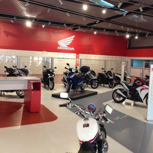 Interior Honda Sevilla
