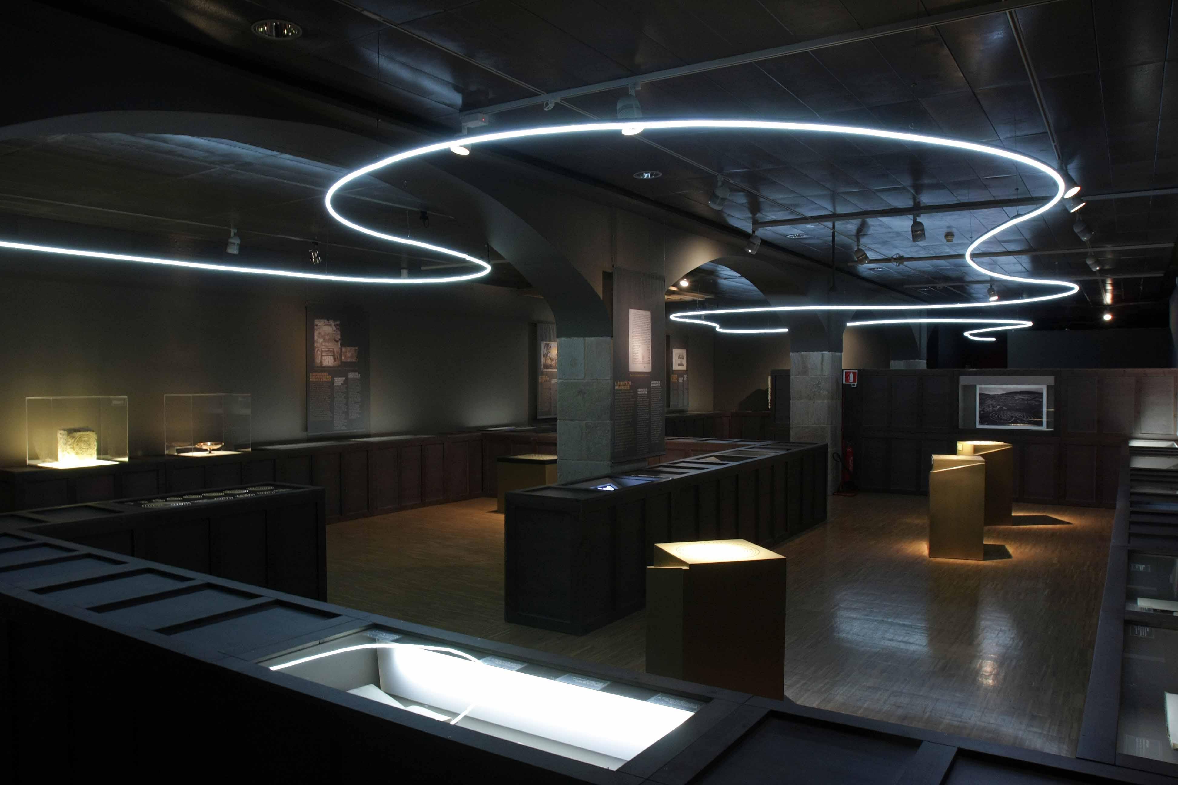 Sala exposición los laberintos Barcelona