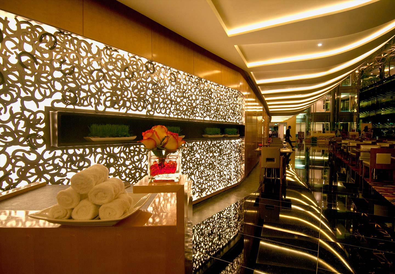Recepción Hotel Meydan Dubai