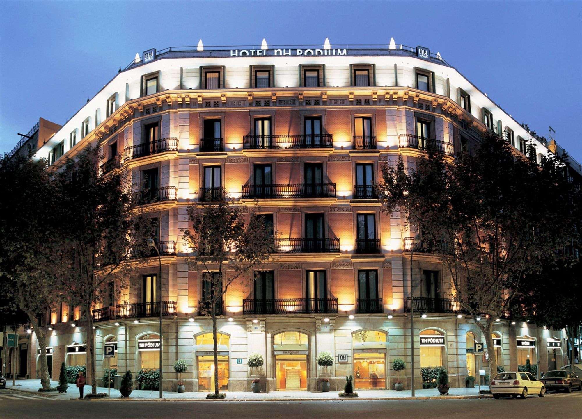 Fachadad Hotel NH Pódium Barcelona