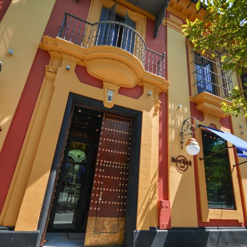 Fachada Hard Rock Cafe Sevilla