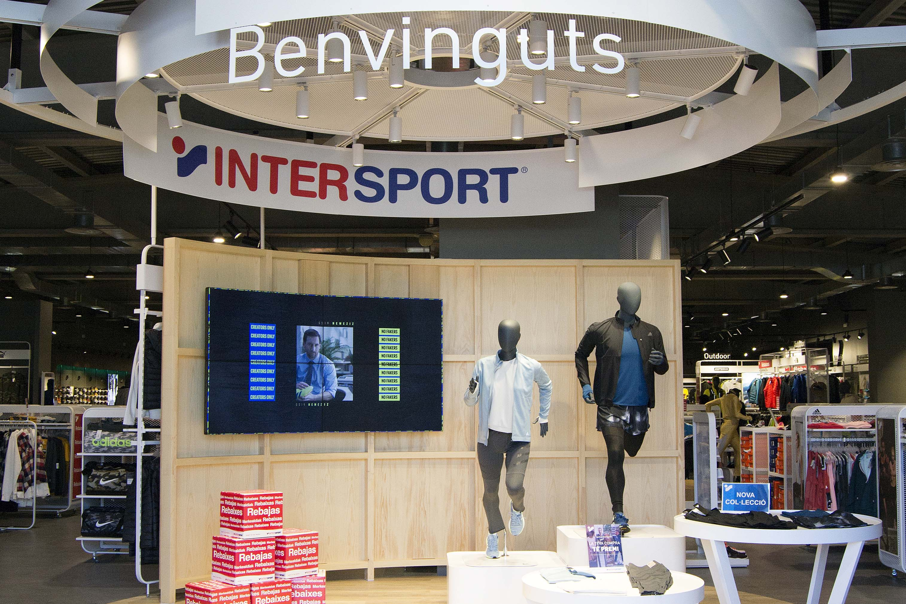 Entrada Intersport Gava