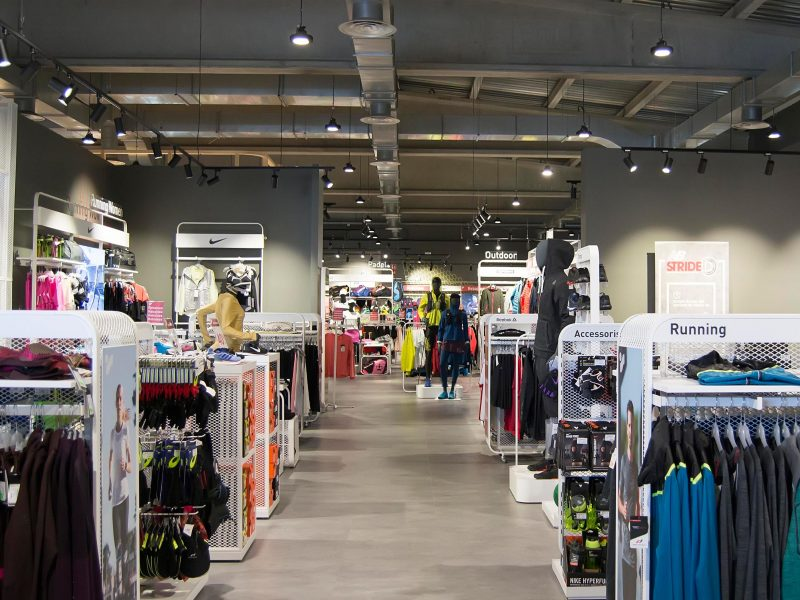 Interior Intersport Gava